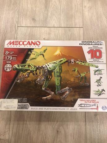 Meccano конструктор динозавр