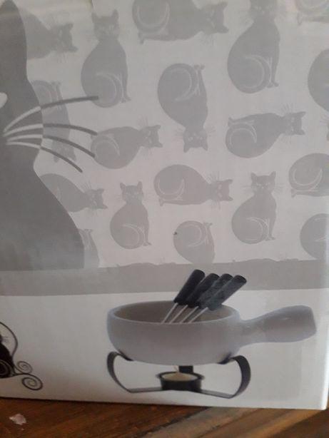 Fondue de chocolate loja do gato preto