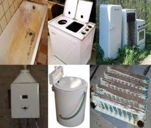 Бесплатно вывезу бытовую технику холодильники, ванны и прочий хлам