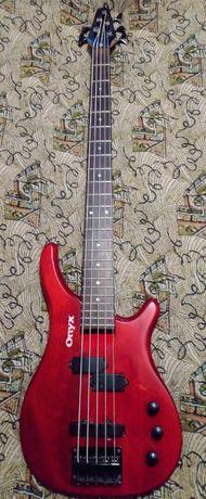 Бас-гитара ONYX 5 струн.Корея.