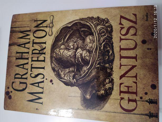 Książka, Geniusz, Graham Masterton, nowa. [ thriller - fantasy ]