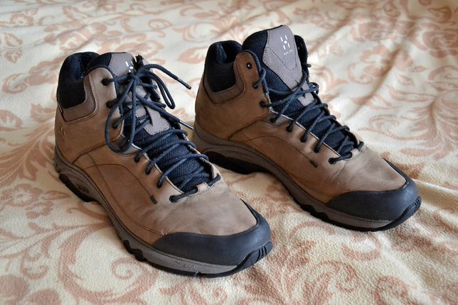 Buty trekkingowe, meskie - HAGLOFS RIDGE MID GT - r.47 (30cm)