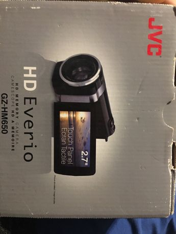 JVC kamera HD Everio GZ-HM650