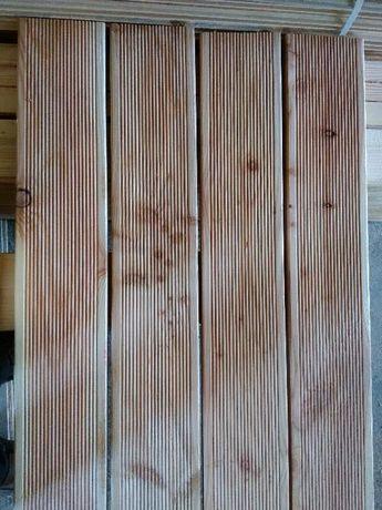 Deska tarasowa modrzew 3x15cm