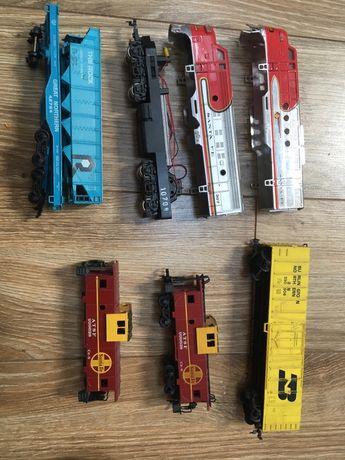 Bachmann tory, lokomotywa i wagoniki
