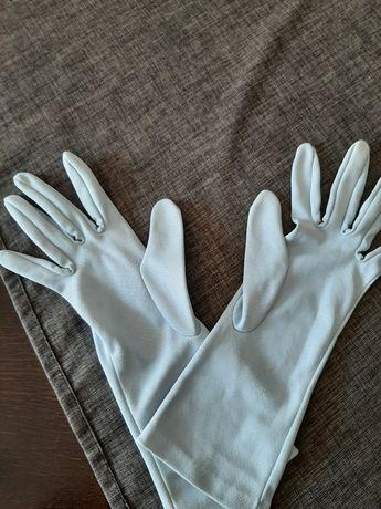 Ala Jedwabne rękawiczki rozm s