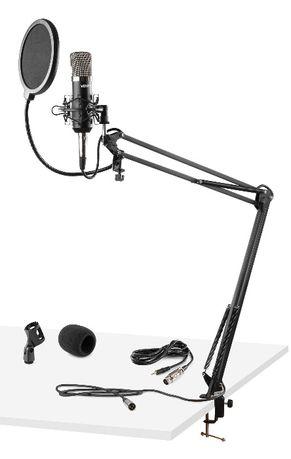 Zestaw Studyjny Mikrofon, statyw, kabel CMS400