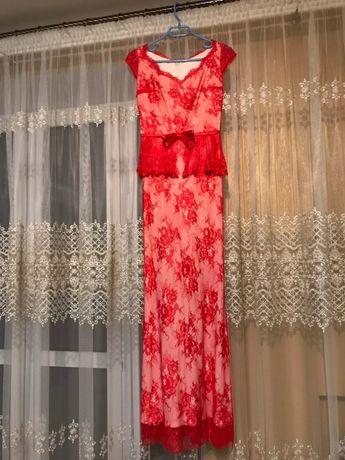 Плаття мереживне