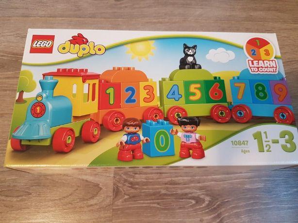 Lego Duplo Pociąg z cyferkami 10847 Nowy