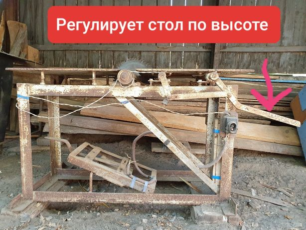 Циркулярка Станок Фуганок Стол регулируется