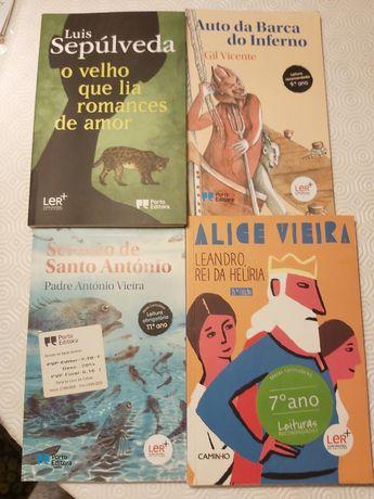 Leandro, sermao, Auto da Barca, o Velho que lia romances de Amor