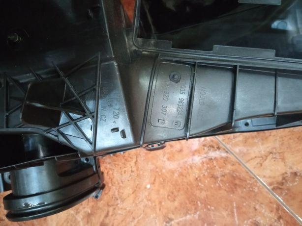 Воздуховоды VW Tiguan (трубы вентиляции под кондиционер)