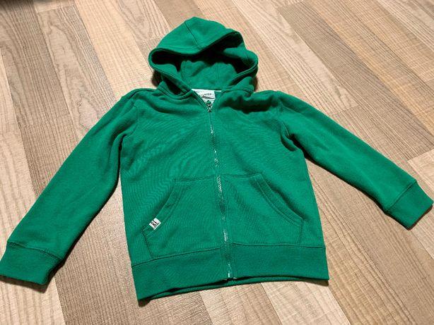 Bluza z kapturem zielona reserved r. 116