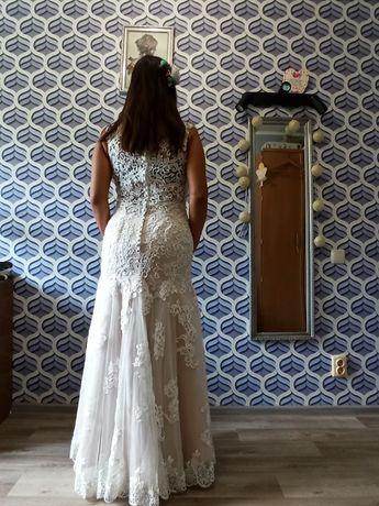 Свадебное платье рыбкой