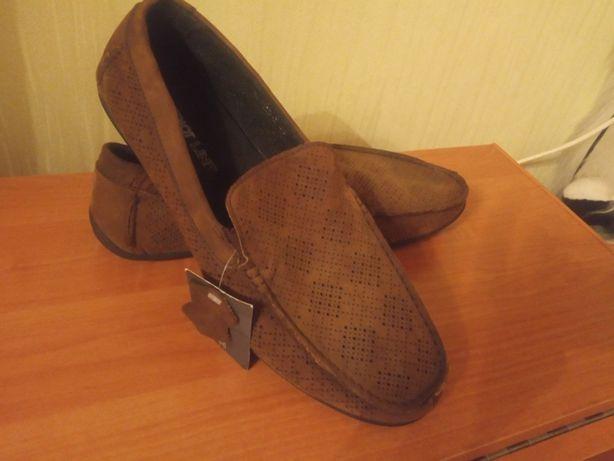 туфли мужские замшевые мягкие
