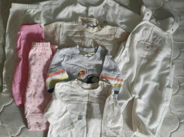 Одежда пакетом 3-6 месяцев
