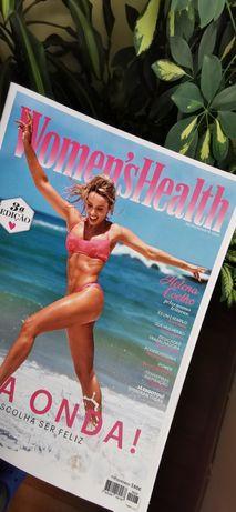 50 Revistas women's health, Activa, caras decoração