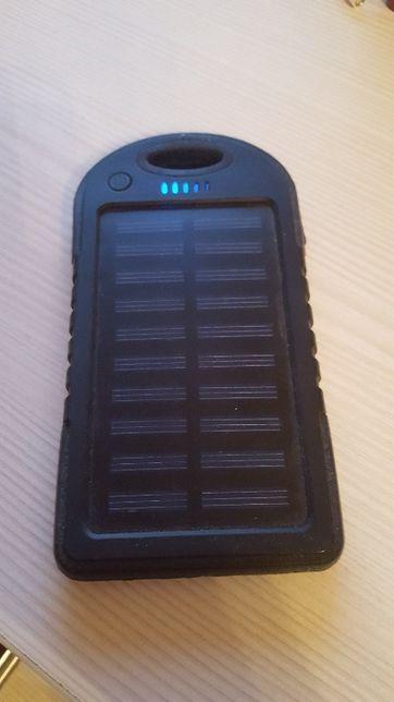 Внешний аккумулятор с солнечной батареей Power Bank SOLAR 21800 mAh