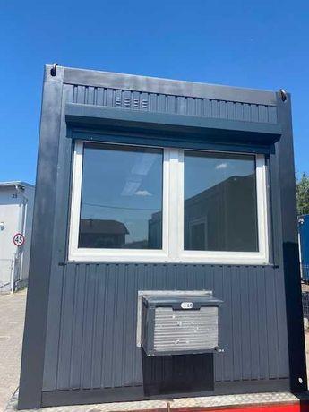 kontener biurowo - mieszkalny z klimą