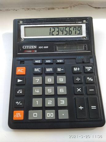 Продам калькуляторCITIZEN  SDC -888