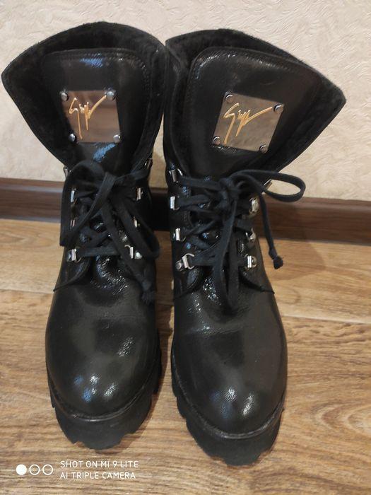 Ботинки зимние 40р Степная - изображение 1