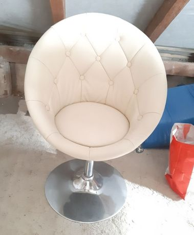Hoker krzesło obrotowe barowe stan idealny