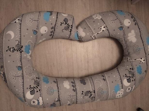 Poduszka ciążowa do spania karmienia rogal dla dziecka