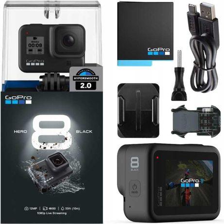 NOWA Kamera GoPro HERO 8 Black Go Pro HERO8 4K WiFi GPS
