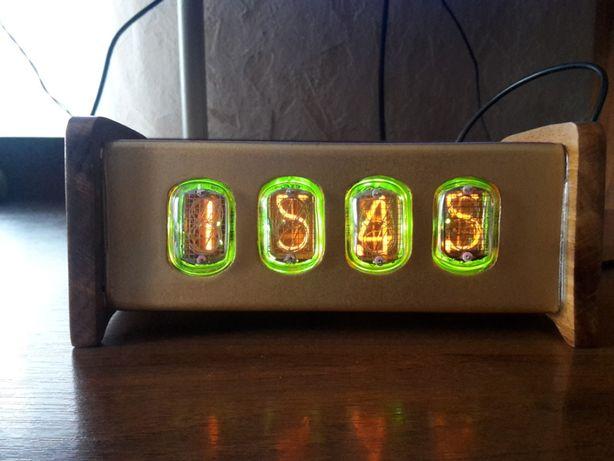 Часы-барометр на ИН-12