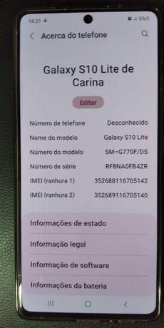 Samsung Galaxy s10 lite 128 gigas