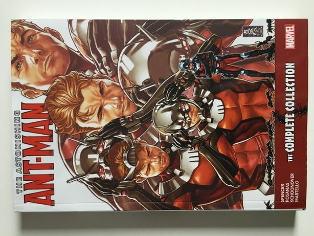 The Astonishing Ant-Man The Complete Collection 470+ stron