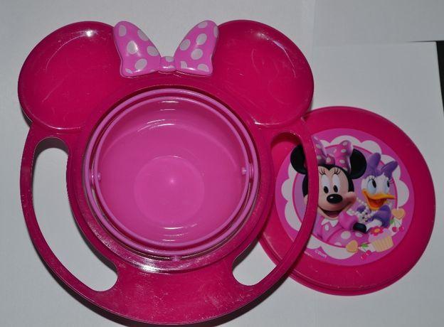тарелка непроливайка Minnie&Daisy Disney и чашка поильник baby king se