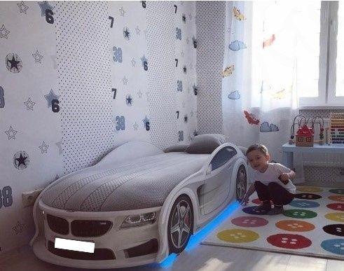 Удобная кровать машина,машинка/БЕСПЛАТНАЯ ДОСТАВКА ПО УКРАИНЕ!