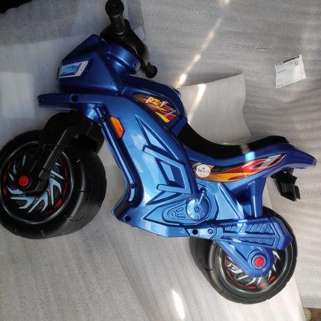 Детский мотоцикл беговел Толокар для детей Байк Велобег Орион