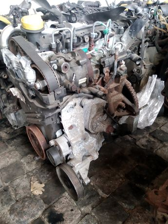 Двигун, Двигатель, Мотор 1.5 dci Євро 4 стартер спереду K9K Renault