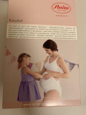 Cinta de grávida com faixa