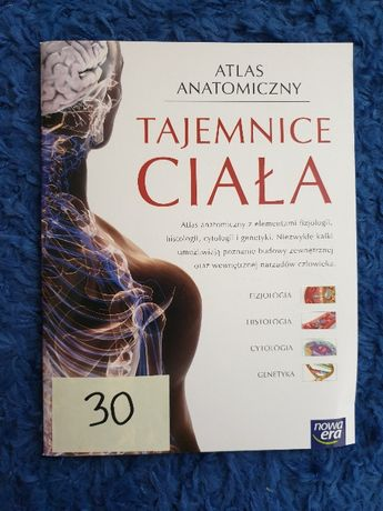Atlas anatomiczny Tajemice ciała NOWA ERA