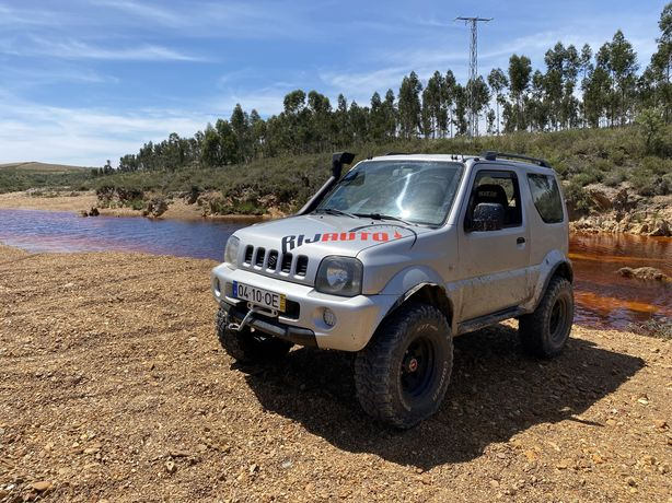 Vendo/troco Suzuki jimny 1.3i kompressor extras legalizados