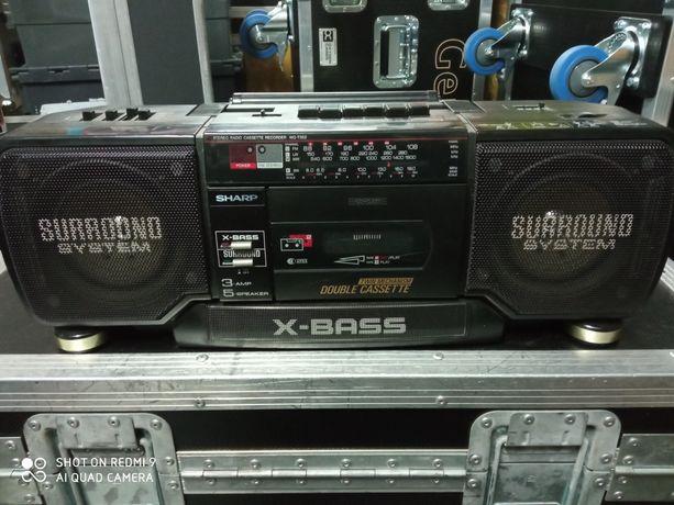 Radiomagnetofon Sharp WQ-T352H (BK)