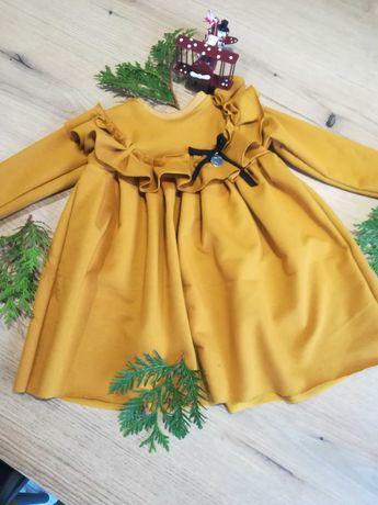 Miodówa sukienka rozmiar 74