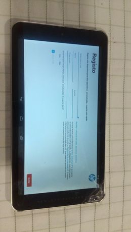 Tablet HP7 com touch partido