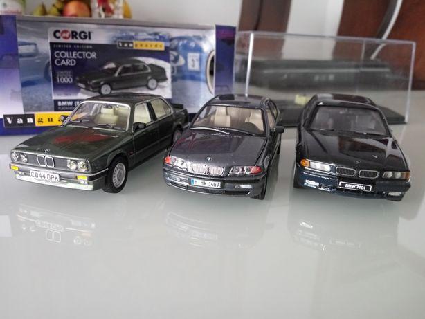 Zestaw BMW e30 corgi, e46 schuco 1:43