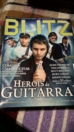 Blitz - Capa Mark Knopfler, Kurt Kobain, Angus Young (Portes incluídos