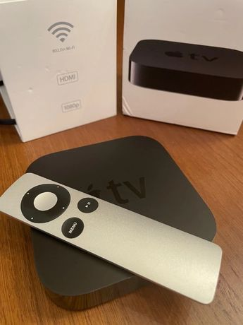 Apple TV 3 gen. A1469, Netflix, Apple TV+, Prime Video Amazon, AirPlay