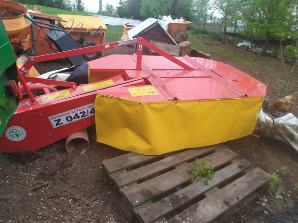 Rotacyjna kosiarka traktorek iseki