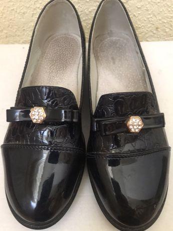 Туфли для девочек размер 35