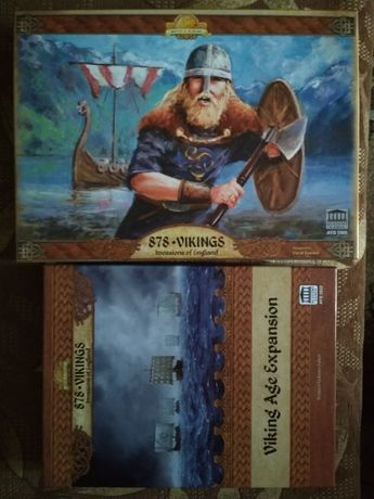 Настільна гра 878: Vikings Invasions of England Вікінги з доповненнями