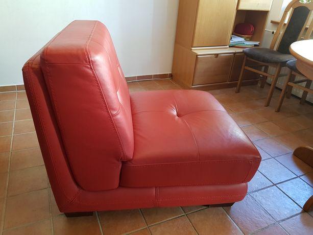 Fotel skóra naturalna