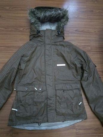 Куртка зимова унісекс з флісовою кофтою лижна парка Foursquare акція