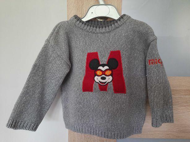Sweter z Myszką Miki 1.5-2 lata Marks&Spencer